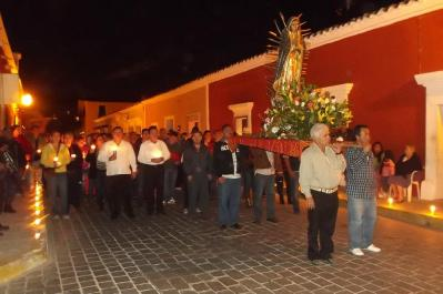 Cosalá Procession of Silence: photo from Mazatlán Interactivo