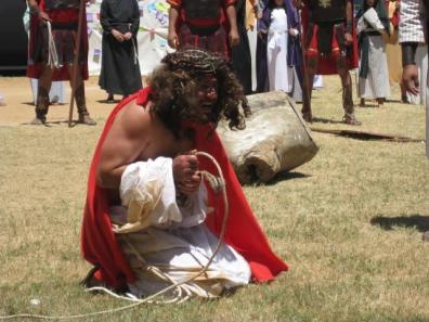 Mazatlán: The flagellation of Jesus, image from PAJUMA