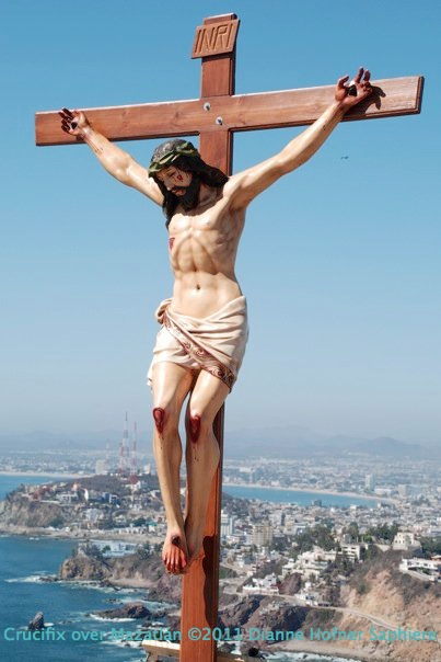 Crucifix over MZT