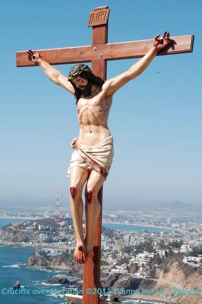 Crucifix over MZT