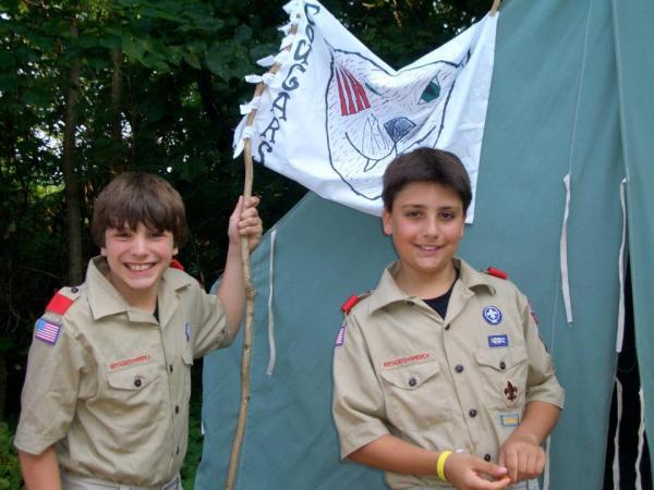 Boys at summer camp