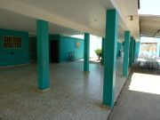 The central hallway
