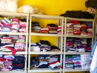 32 kids make for a lot of clothes to wash, iron and fold.