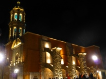 Siglo IV at night