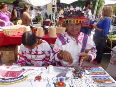 Huichol couple