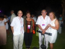 Sandra Luz and Don Hector from MZT Interactivo