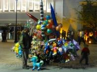 The balloon man...