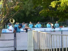 "This year there are ""banda"" playing every 2 km along the race routes"