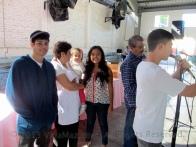 Fun behind the scenes