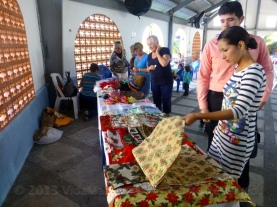 And the also hugely successful holiday bazaar