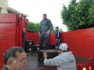 Loading trucks
