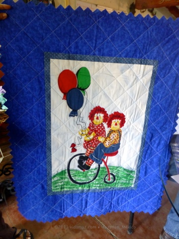 Two beautiful handmade baby quilts