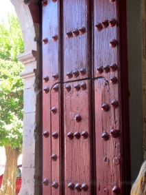 Door to the church