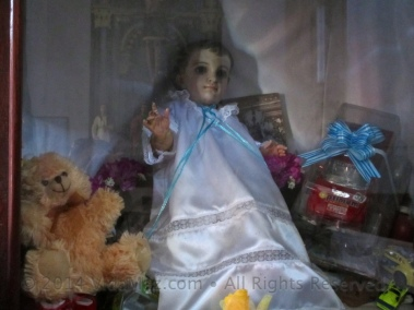 Baby Jesus with some toys