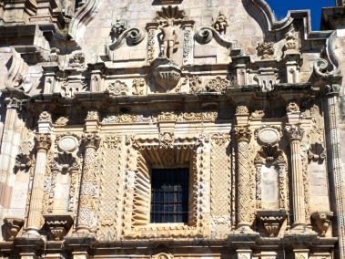 Detail of the facade