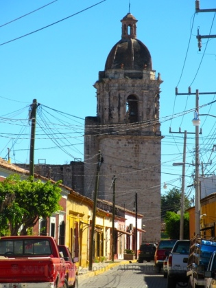 View of the belltower