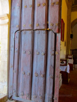 Door of the church