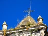 Closeup of the belltower