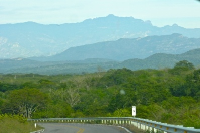 Mountain view approaching Cosalá