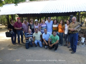 Our group with Saboreando Ando