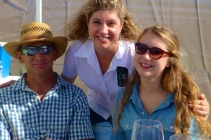 Marianne, Rogelio and Hailey