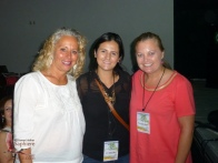 With Janet Blaser and Karina Ochoa Leyva (Ruta del Mango)