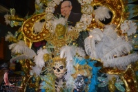 Maestro Rigos photo crowned this former Carnavál queen