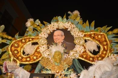 Closeup of the tribute to Maestro Rigo Lewis.