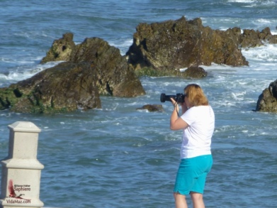 Me taking the mermaid pic ;)
