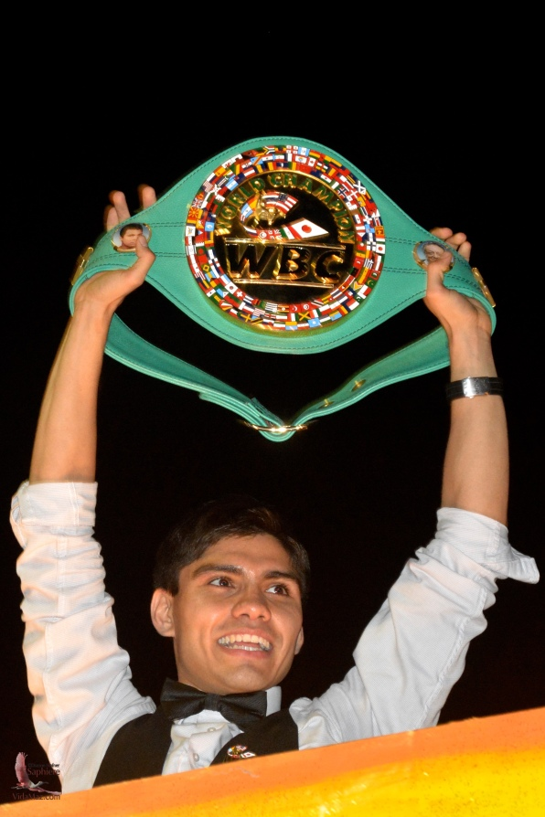 Pedro Guevara, world flyweight boxing champion,