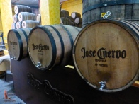 A couple of the kinds of barrel tasting we did