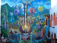 Mural of the city