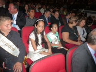 "A few members of the ""cabildo infantil"" or children's city council"
