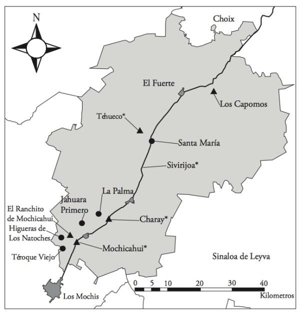 Yoreme map