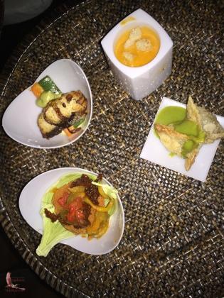 Curvina, soup, a tamal...