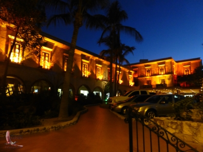 Entering the Hotel Playa for Playapalooza last night