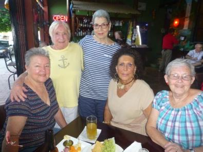 Lynn, Dee, Judith, Kathy, Marg