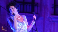 Amberley Beatty as Patsy Cline in Playapalooza Mazatlán