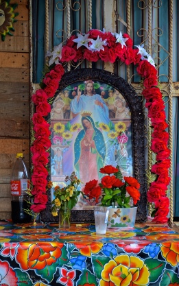 The Virgin of Guadalupe at one home