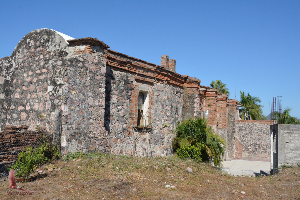 Backside of the existing church