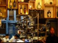 Inside Carmen's restaurant