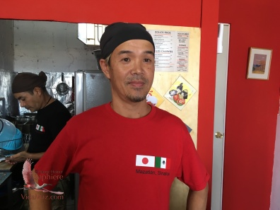 Ko has been a sushi chef in Japan, the USA and Switzerland in addition to Mazatlán