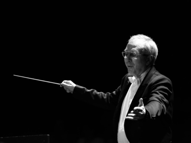 Concert director Gordon Campbell