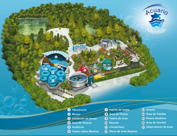 mapa-acuario-mazatlan