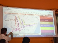 Alternated routing, which many residents attending the meeting said does not flow