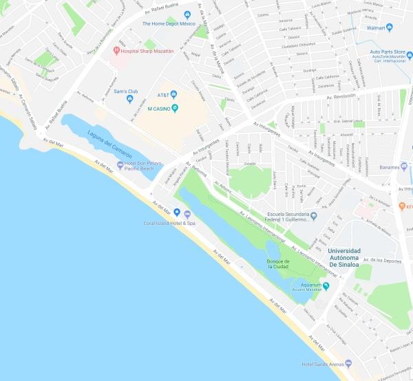 estero map