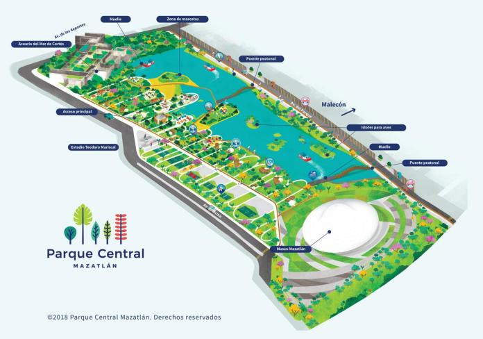Image result for central park mazatlan
