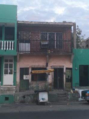 La Maya's former house on Calle Rosales in El Centro.