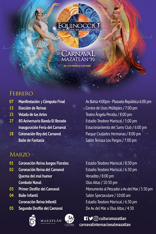 Carnaval Calendar