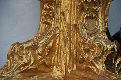 Gold foil detail
